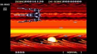 Sol Deace / auto demo / Sega Genesis 1992