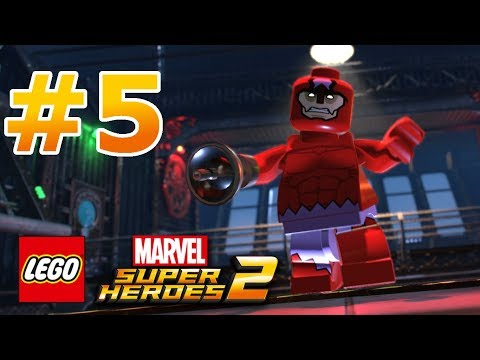 LEGO Marvel Super Heroes 2 - Walkthrough - Level 5: Hydra Hijinks thumbnail
