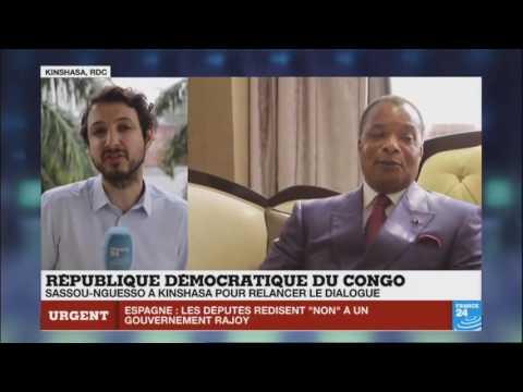 CRISE POLITIQUE AU GABON ET L'ARRIVE DE SASSOU NGUESSO A KINSHASA...