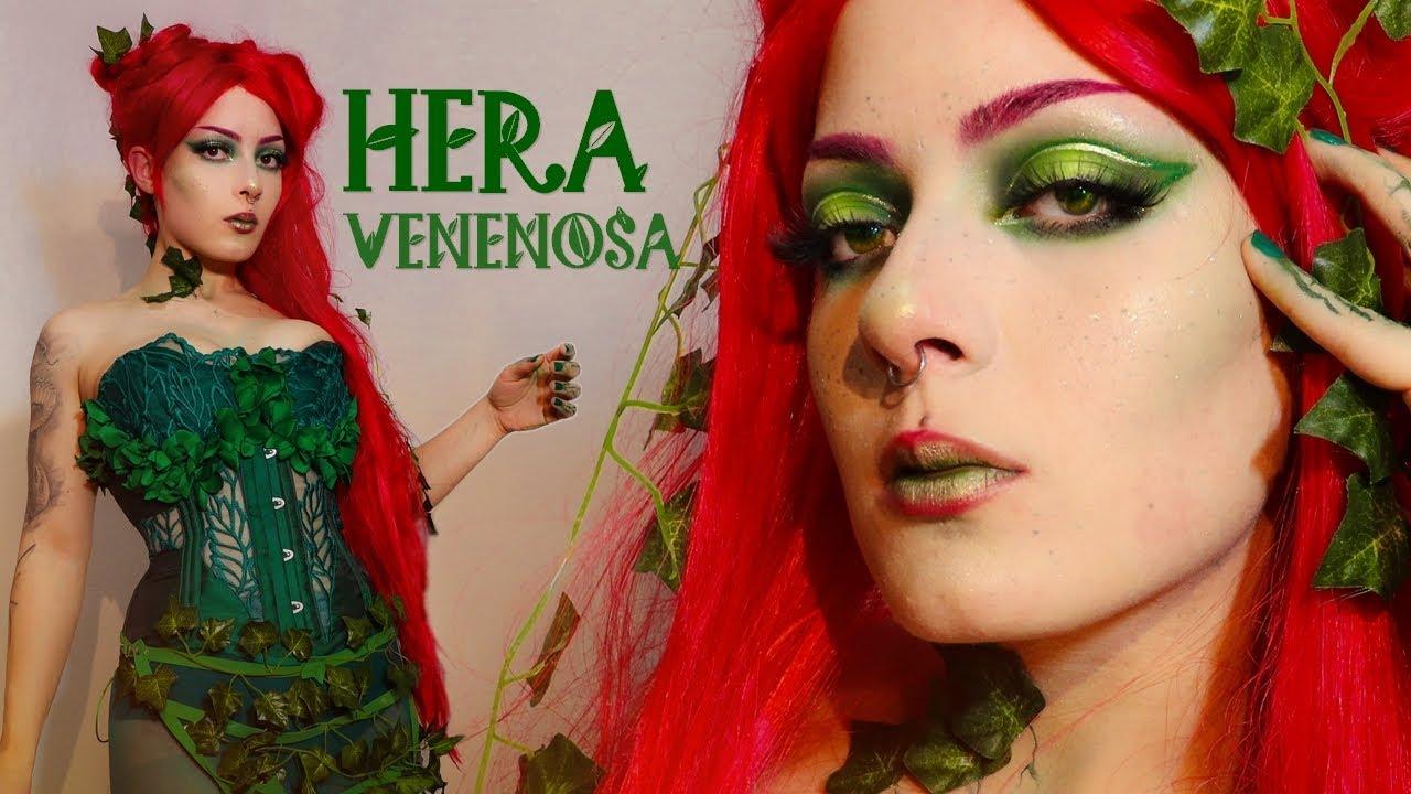 HERA VENENOSA ~ História, maquiagem e cosplay da personagem | MAQUIA E CONTA
