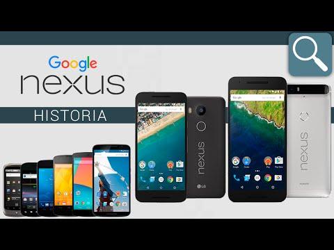 La historia de los Google Nexus