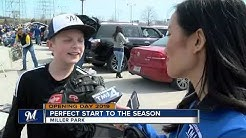Brewers fans soak in spring, start of the season