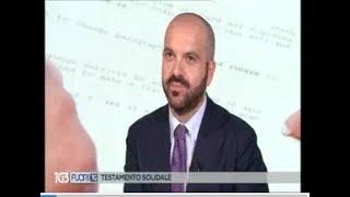 08/02/2019 - RAI 3- FUORI TG - Notariato per il sociale - Testamento solidale