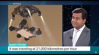 Schiaparelli probe has lost contact with Earth