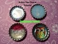 Bottle Cap Charm Tutorial