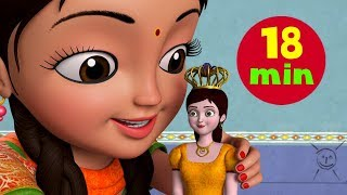 Gudiya Rani Badi Sayani - Baby Doll Song and More | Hindi Rhymes for Children | Infobells
