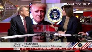 Malory Factor nails the elites against Donald Trump and BBC cut interview short