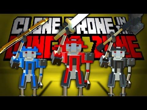 RANDOM UPGRADE CHALLENGE - Clone Drone in the Danger Zone Update