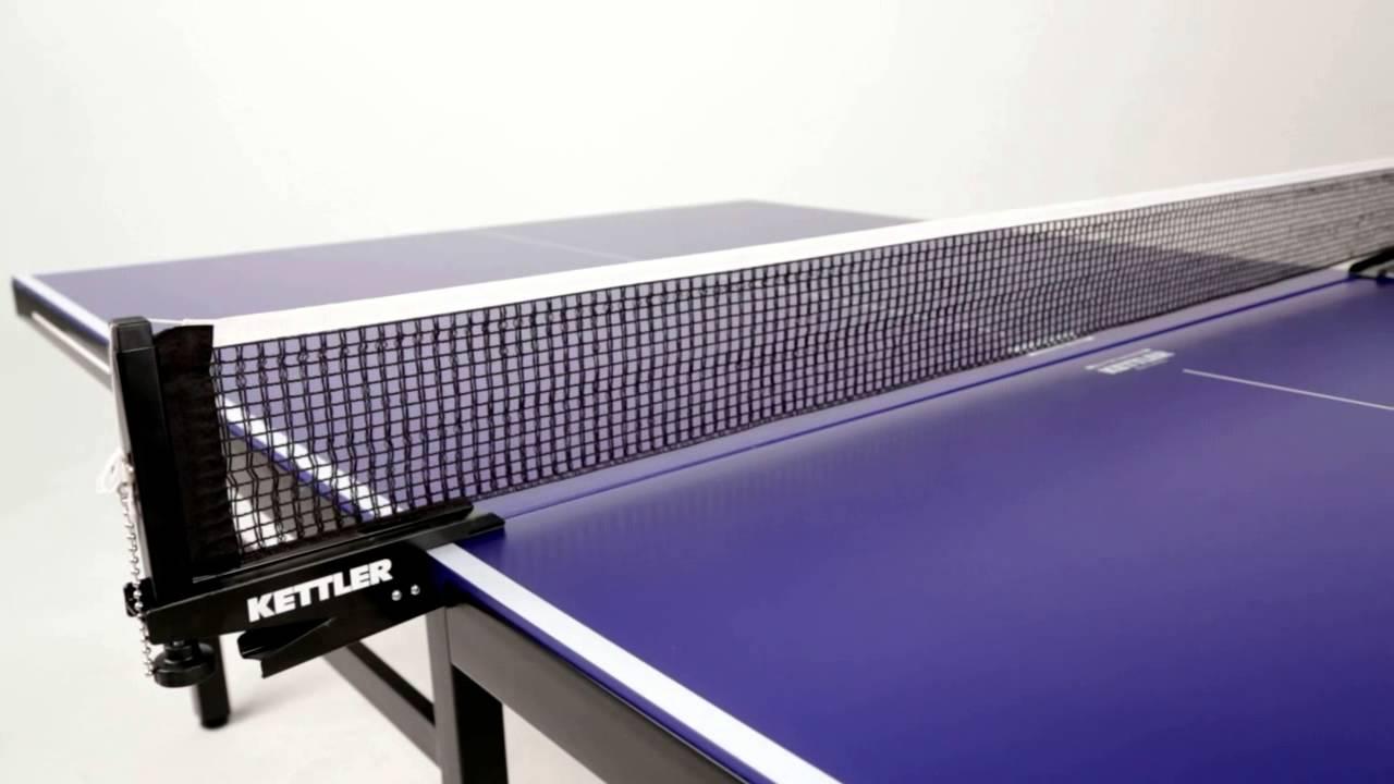 kettler outdoor indoor 11 table tennis table youtube. Black Bedroom Furniture Sets. Home Design Ideas