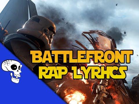 "Star Wars Battlefront Rap LYRIC VIDEO by JT Music - ""Star Wars Rap-Battlefront"""