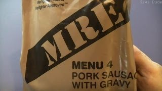 Mre Review - Menu 4 - Pork Sausage With Gravy (2012)