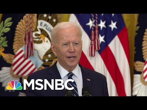 Biden Says Uptick In Border Detentions Follows Seasonal Pattern   The ReidOut   MSNBC