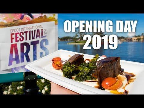 Epcot International Festival of the Arts (OPENING DAY 2019) | Walt Disney World