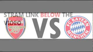 Arsenal vs Bayern Munich Live Stream
