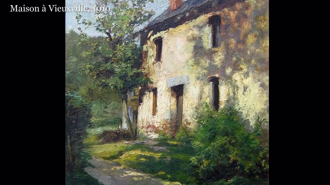 Emile deshayes 1875 1946 peintures l 39 huile oil - Harmonisation des couleurs peinture ...