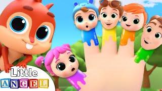 Finger Family At The Park | Nursery Rhymes & Kids Songs Little Angel