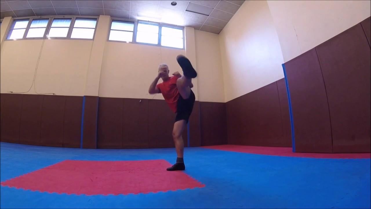 exercices de boxe française