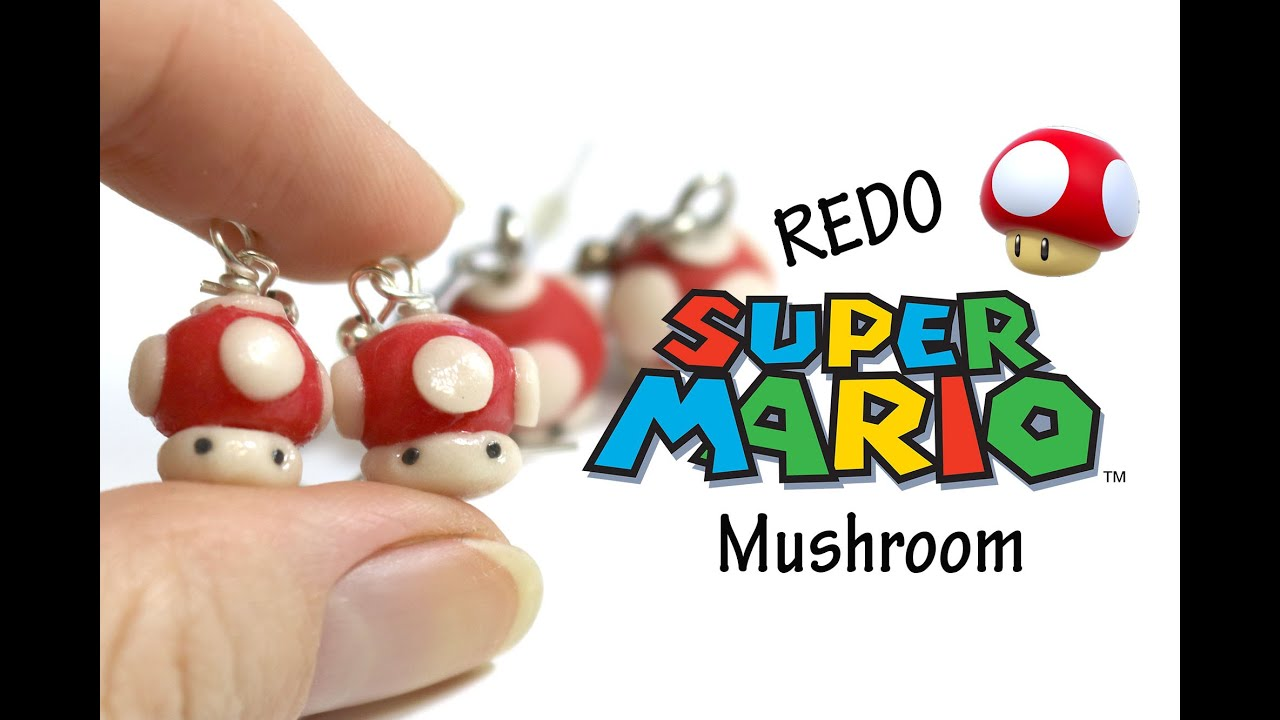 how to make a fimo mushroom