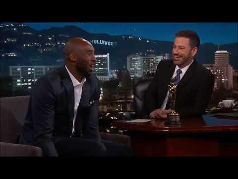 Kobe Bryant Jimmy Kimmel'la Oscar hakkında konuşuyor (Türkçe)