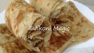 How to Make Soft Chapatis Full of Layers (Moroccan Msemen Inspired) - Jikoni Magic