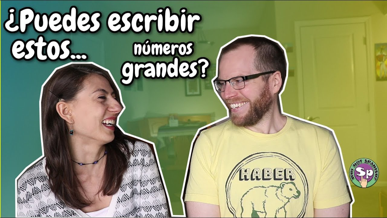 BIG NUMBERS in Spanish Practice | Can you do better than Cody? - Listening  Practice