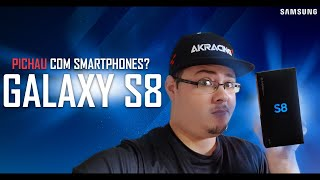 O TOP Galaxy S8 Prata 64GB - Unboxing e Overview