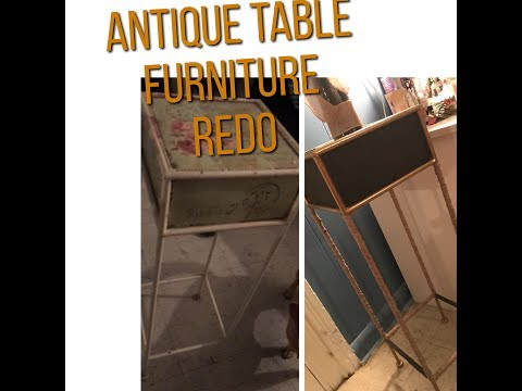 Antique Table (Furniture Makeover) Diy ✨