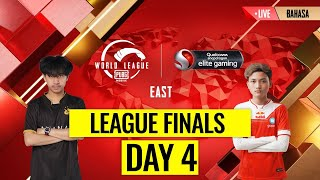 [BAHASA] PMWL EAST - League Finals Day 4 | PUBG MOBILE World League Season Zero (2020)