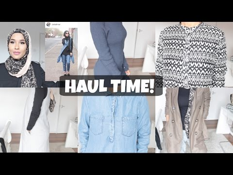 TRY ON HAUL- PRIMARK, NEWLOOK, H&M,...