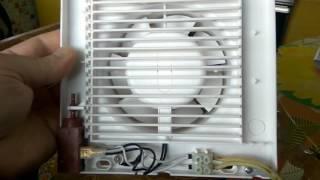 Обзор вентилятора вентиляции с Жалюзи. Polo 5 120 AZ