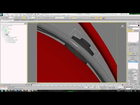 Tutorial Assembly, Luminaire, Wire Parameter in 3dsmax