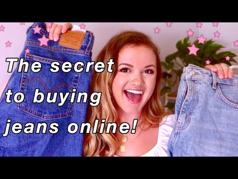 HOW TO BUY YOUR PERFECT JEANS ONLINE!