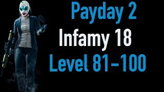 Payday 2 Infamy 18 | Part 4 | Level 81-100 | Xbox One