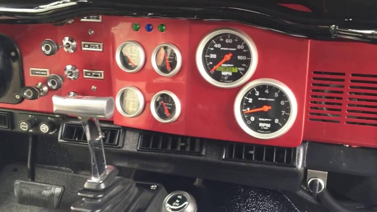 sick interior restoration jeep cj 7 [ 1280 x 720 Pixel ]