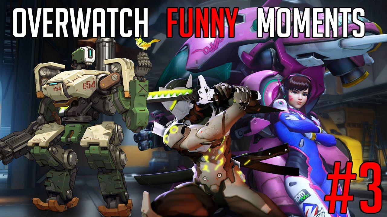 Overwatch Gameplay -Full team of Dva is Fun - YouTube
