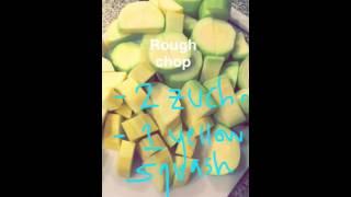 EASY SUMMER SQUASH SOUP VEGAN  Snapchat Recipe