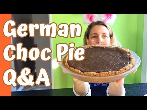 Jill's German Chocolate Pie LIVE Q&A