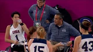 Women's Wheelchair Basketball (USA vs PER) - 1st Half | Parapan American Games Lima 2019
