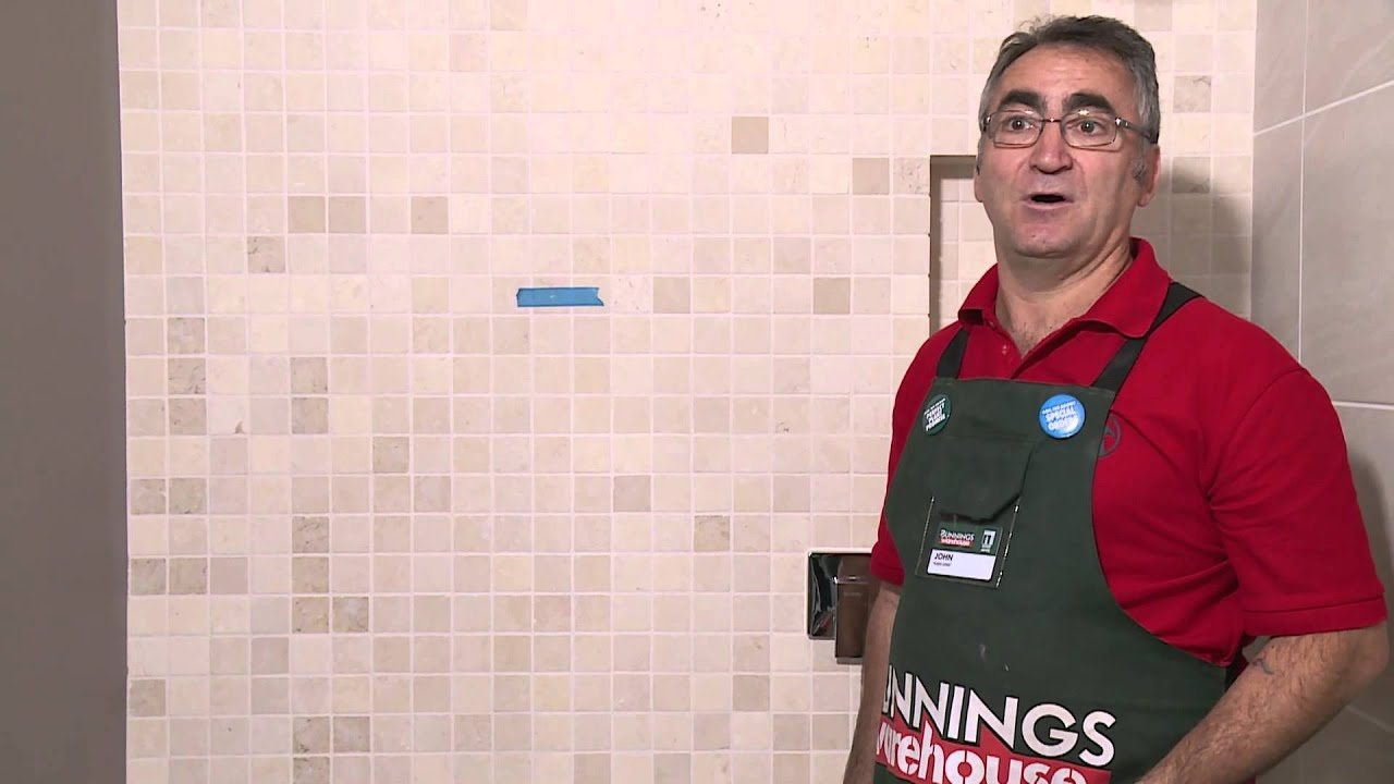 How To Drill Into Tiles - DIY At Bunnings