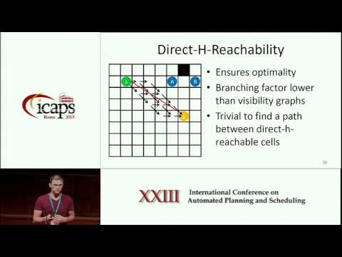 ICAPS 2013: Tansel Uras - Subgoal Graphs for Optimal Pathfinding in Eight Neighbor Grids