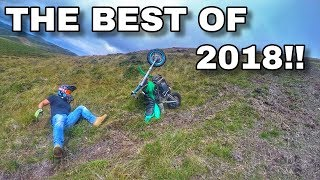 THE BEST OF 2018 | DIRT BIKE WINS AND FAILS