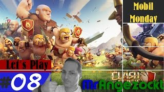 Let's Play Clash of Clans #8 - Angriff! - COC [Android, HD+, deutsch]
