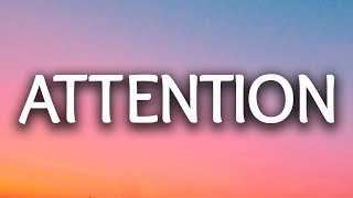 Charlie Puth ‒ Attention (Lyrics / Lyric) (Lash Remix)
