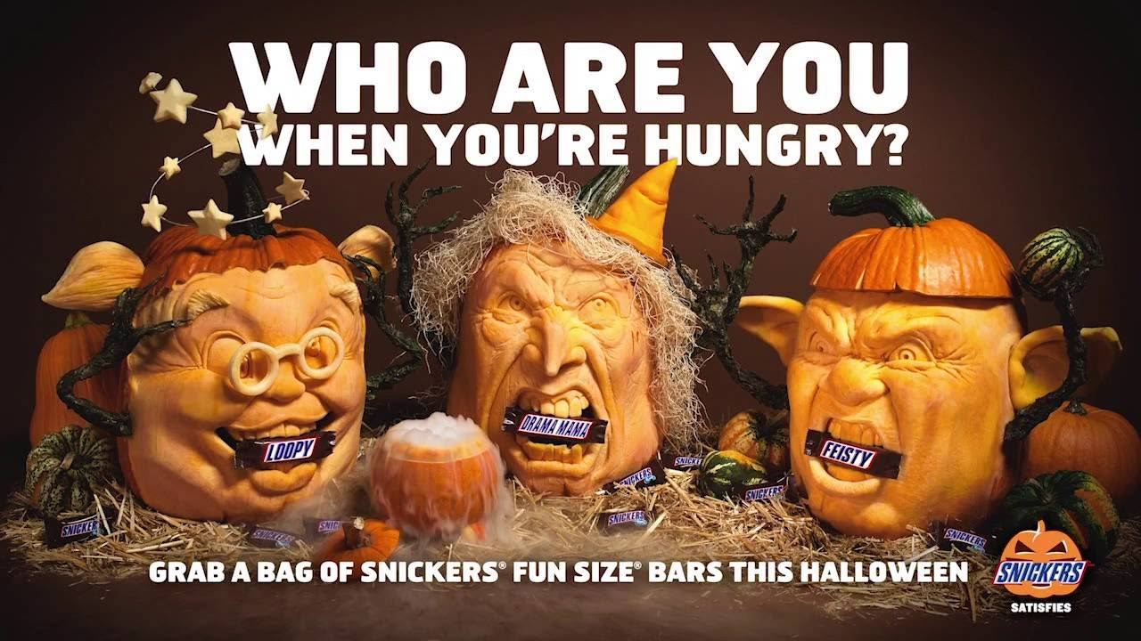 snickers jon neill halloween commercial youtube - Walmart Halloween Commercial