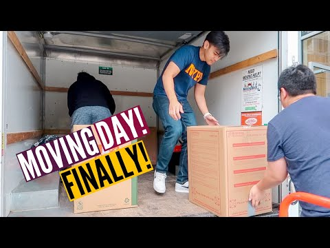 MOVING DAY! | Moving Can't Be That Hard Right? // Nat And Max