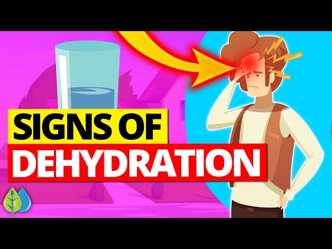 💧Top 10 Signs of Dehydration (signs you're not drinking enough water!)