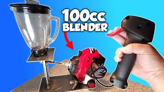 I Made A GAS POWERED BLENDER