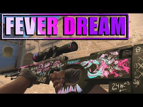 CS:GO SKINS -  AWP | Fever Dream Gameplay/Showcase + GIVEAWAY 🎁