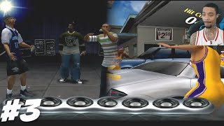 NBA Ballers Phenom Story Mode Part 3 - Freestyle Rap Battle! + Charity Car Wash W/ BEAUTIFUL MODELS!