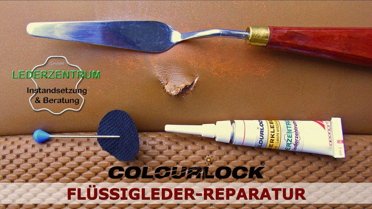 Brandloch Reparatur Set How To Repair Cracks And Rips On Car Leather
